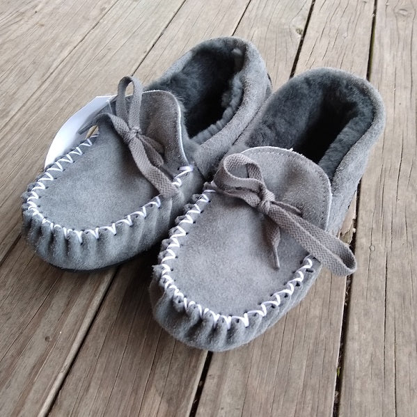 Glen Moccasin Sheepskin Slipper EB Tolley
