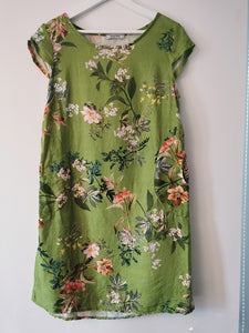 Small Kennedy dress by Helga May in Green
