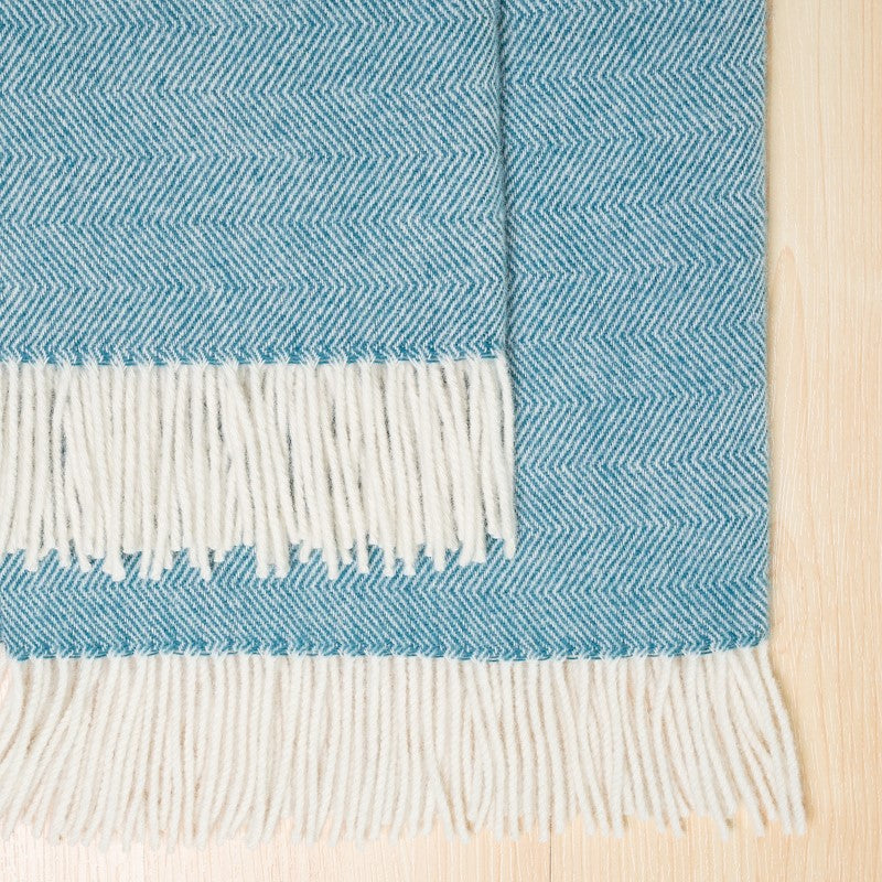 Hahei NZ Made woollen blankets by Weave Home