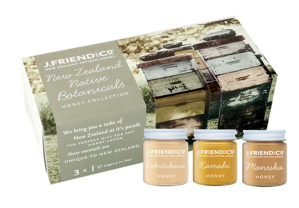 J Friend New Zealand Botanicals Honey Collection