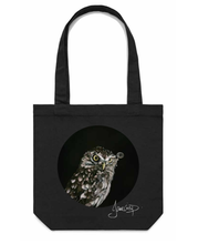 Jane Crisp Captain Hooter Tote Bag