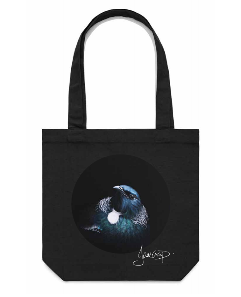 Jane Crisp Tui Tote Bag