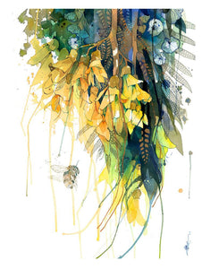 Rachel Walker Kowhai Epiphyte Limited Edition Print