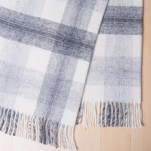 Mainland Blanket by Weave in Slate