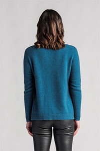 Relaxed Sweater in Crevasse by Merinomink