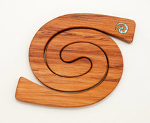 Romeyn Mini 2 in 1 Paua Koru Inlay Tablemats