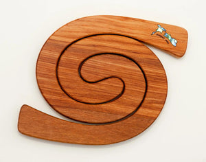 Romeyn Mini 2 in 1 Paua NZ Inlay Tablemats