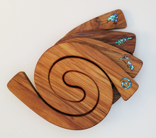 Romeyn Mini 2 in 1 Paua Inlay Tablemats