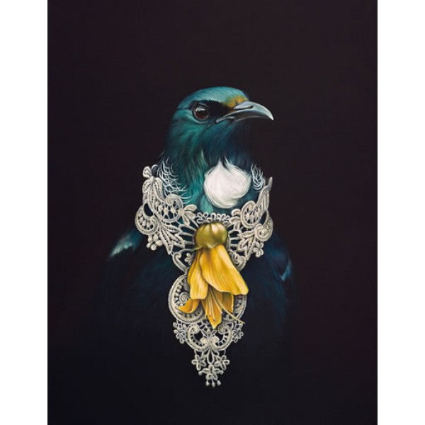 She of the Kowhai Tree Greeting Card by Jane Crisp