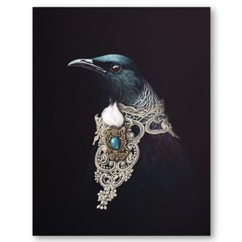 Jane Crisp Adorned Orator Greeting Card