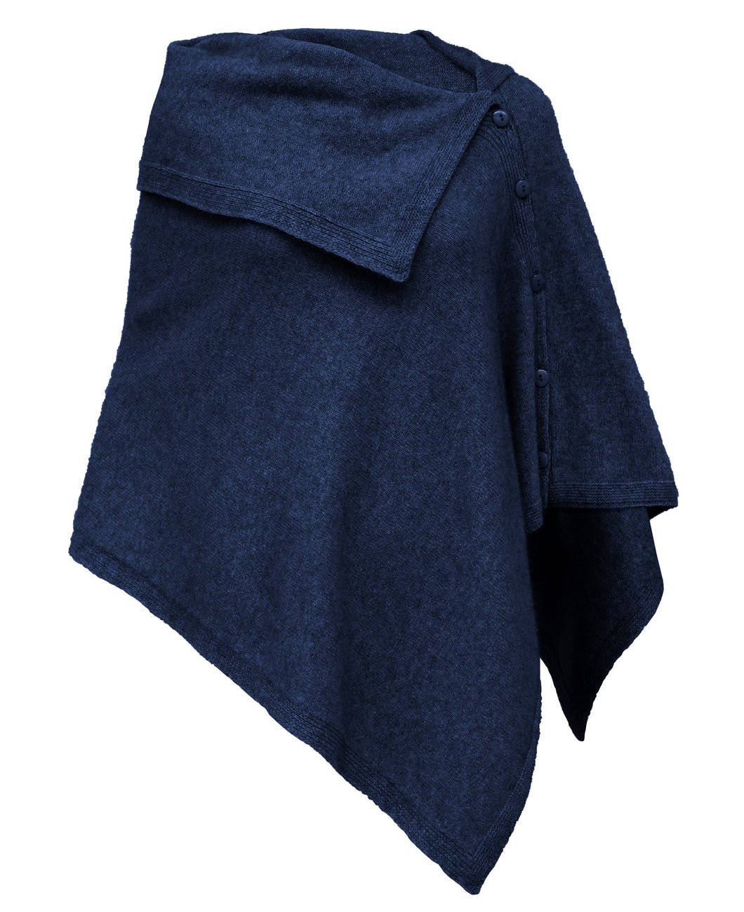 Noble Wilde Off Shoulder Cape in Maritime