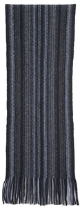 Nativeworld Multi Striped Scarf in Black