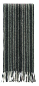 Nativeworld Multi Striped Scarf in Charcoal