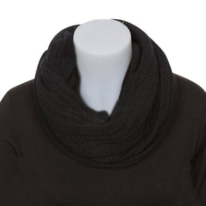 Lace Endless Scarf in Black by Nativeworld