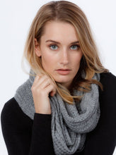 Lace Endless Scarf in Silver by Nativeworld