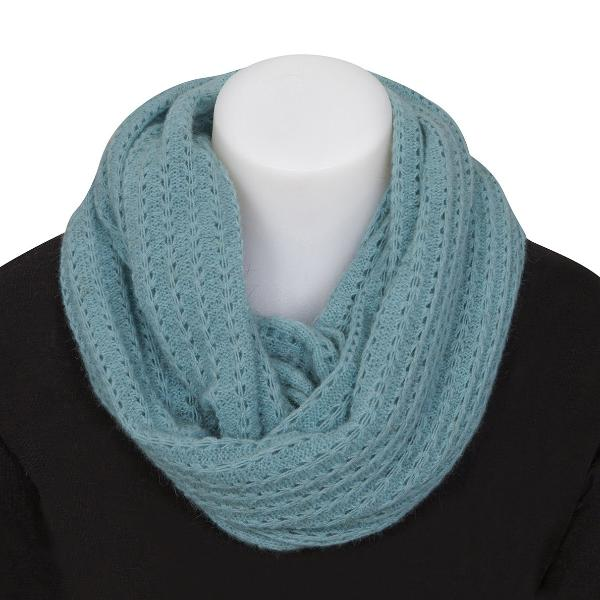 Nativeworld Possum Merino Lace Loop Scarf in Topaz