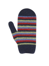 Nativeworld Child's Striped Mittens NX708 Twilight