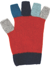 Child's Fingerless Possum Merino Mittens