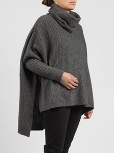 Weave Sweater by Merinomink in Slate
