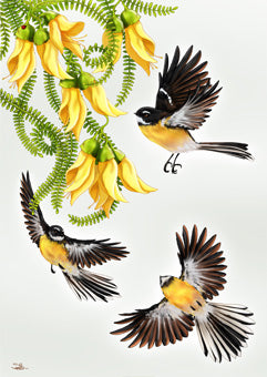 Sophie Blokker Fantails in Flight