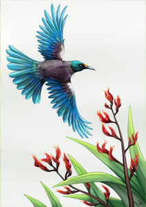 Sophie Blokker Tui in Flight Print