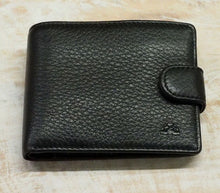 NZ Deerskin Dome Wallet with Coin Purse
