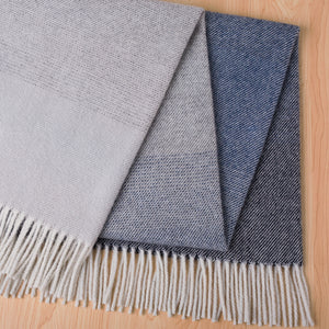 Weave Piha Lambswool Blanket in Eclipse