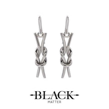 Reef Knot Earrings from the Nautical Collection