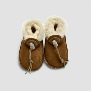 Sheepskin Booties For Toddlers