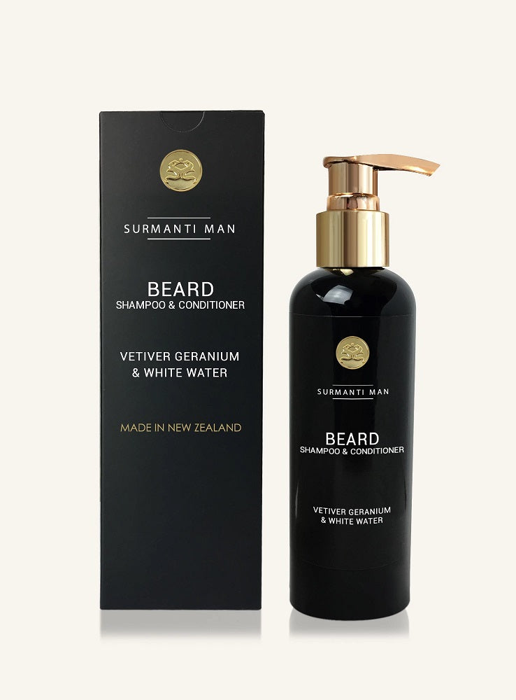 Surmanti Man Beard Shampoo and Conditioner
