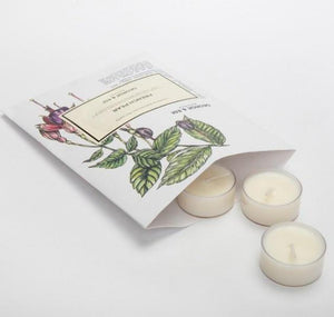 George and Edi French Pear Tea Light Candles