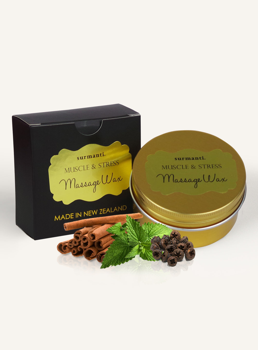 Surmanti Muscle and Stress Massage Massage Wax