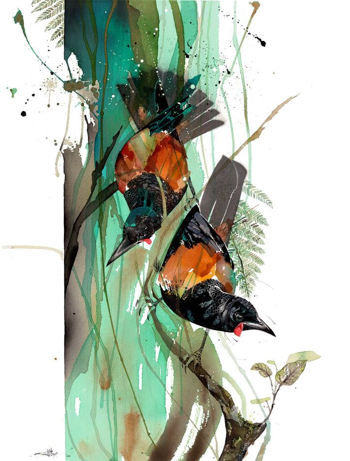Two Tieke by Rachel Walker