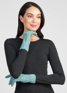 Untouched World Cosy Gloves in Serene
