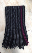 Possum Merino Urban Scarf in Berry by Lothlorian