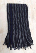 Possum Merino Urban Scarf in Midnight by Lothlorian