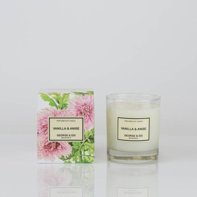 George & Edi Vanilla and Anise Classic Candle