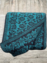 Jacobean Scarf Paua by Noble Wilde