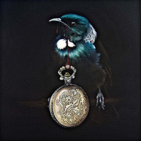 Pandora's Locket by Jane Crisp Native NZ Tui