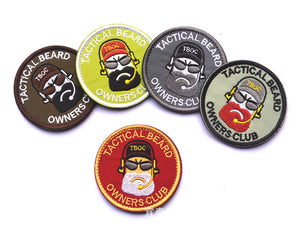 "Tactical Beard Owners Club ""BREAD MAN"" Tactical Patch"