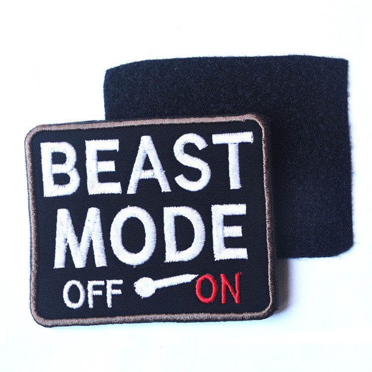Beast Mode Activated 2x3 Tactical Patch