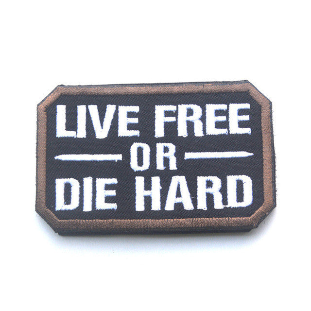 Live Free or Die Hard Tactical Morale Patch
