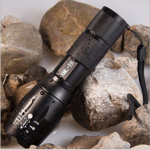 High Power CREE XML-T6 5 Modes 3800 Lumens LED Flashlight