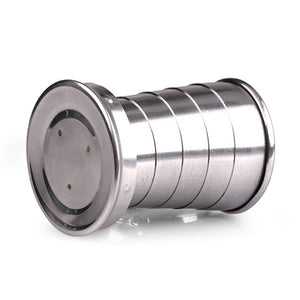 Stainless Steel Portable Collapsible Cup
