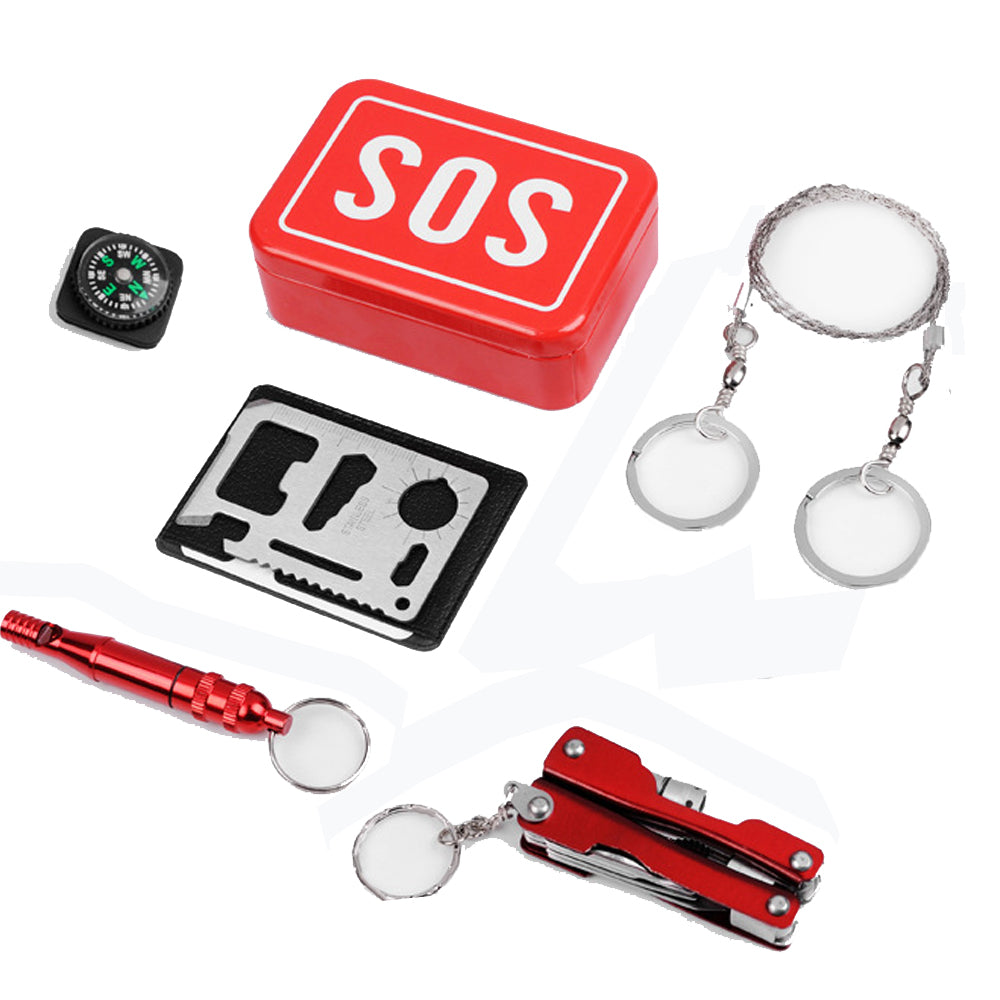 6-in-1 SOS Survival Kit