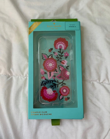 Kate Spade Pink IPhone X/XS Case