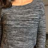Gray Sweater- Size Small