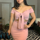 Pink Dress- Size Small