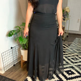 H&M Long Maxi Black Skirt- Size 6