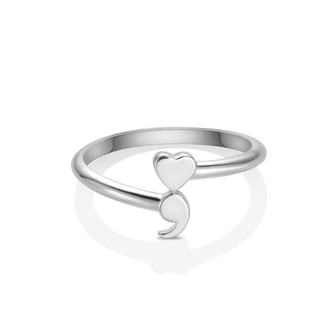 Semicolon Ring
